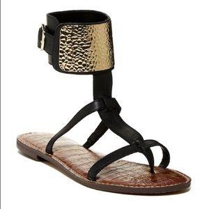 Sam Edelman Genette Gladiator Cuff Sandals Size 9
